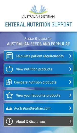 Aplicatie iTunes pentru calcularea suportului nutritional pentru iPhone, iPad